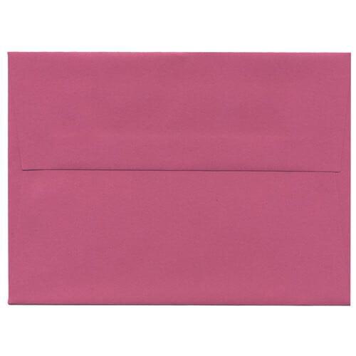 JAM Magenta Envelopes A6 (4 3/4 x 6 1/2) -1000 per carton