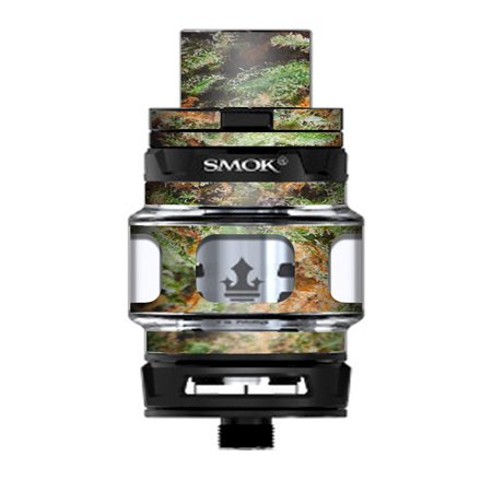 Skin Decal Vinyl Wrap for Smok TFV12 Prince Tank Vape Kit skins stickers cover / Nug Bud Weed (Best Buds Weed Tattoo)