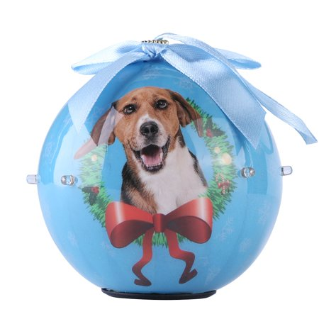 Dog Collection Twinkling Lights Christmas Ball Indoor Decorative - Twinkle Collection