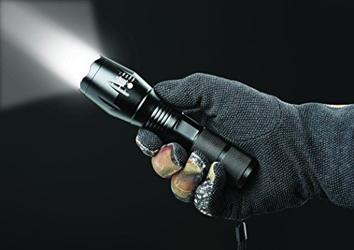 Military Grade Aluminum Construction Tac Hawk X800 Tactical Flashlight