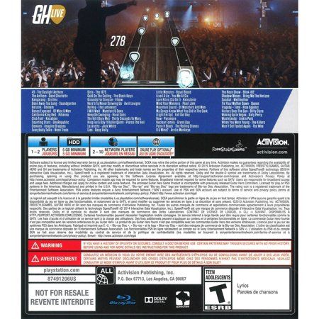 Activision Guitar Hero Live Bundle - Entertainment Game - Playstation 3 (2017 Zero To Hero Game Developer Bundle)