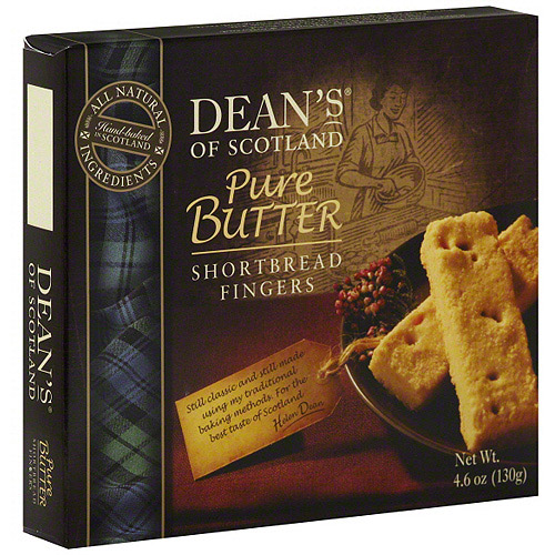 Dean's Of Scotland Pure Butter Fingers, 4.6 oz Shortbread Cookies, 10 Pk (Pack of 10)