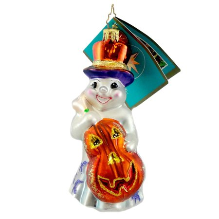 CHRISTOPHER RADKO WAILIN' AND WILLIES Glass Ornament Halloween 1012296 Bass - Halloween Meets Bass