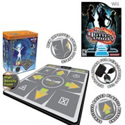 DDR Bundle Multi-Platform Super Sensors Energy Super Deluxe Dance Pad (PS, PS2, XBox, PC, Mac) + Game Hottest Party Wii