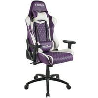 Techni Sport TS-52 Ergonomic High Back Video Gaming Chair, Purple