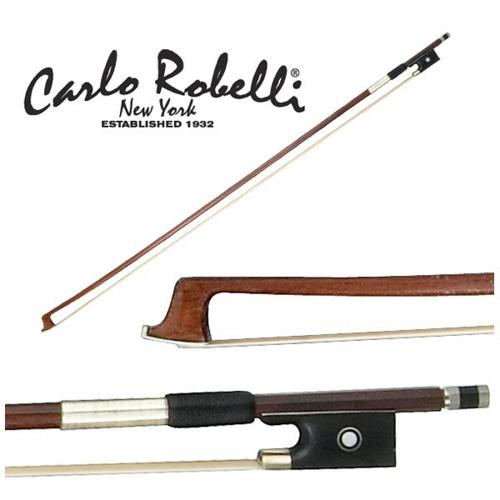 Carlo Robelli Brazilwood Violin Bow (1 8 Size) by