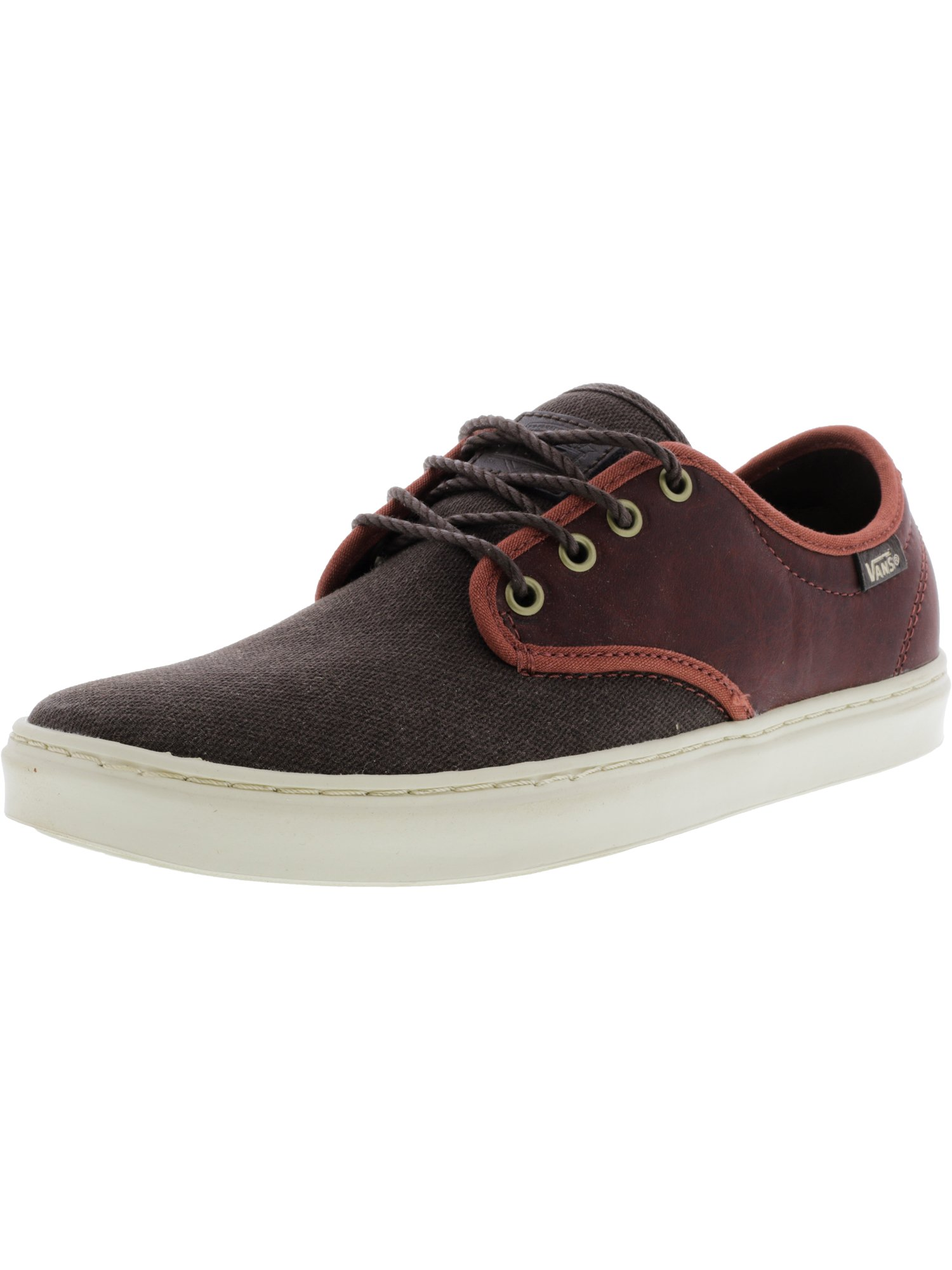 Vans Ludlow + Leather Henna Ankle-High Skateboarding Shoe - 8M / 6.5M