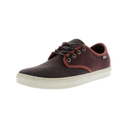 c73d50b62e6 Vans - Ludlow + Leather Henna Ankle-High Skateboarding Shoe - 8M   6.5M -  Walmart.com