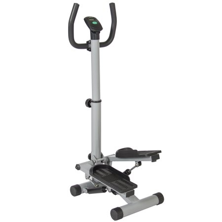 - Best Choice Products Portable Stair Climbing Stepper Machine w/ Digital Screen for Workout, Fitness, Cardio - Black/Gray