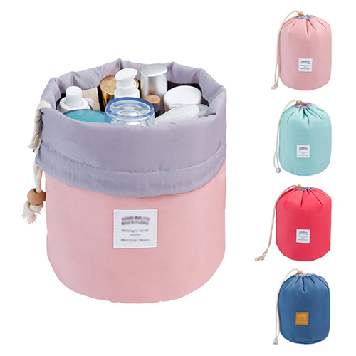 Micelec Cosmetic Jewelry Organizer Wash Toiletry Makeup Travel Drawstring Storage Bag Case