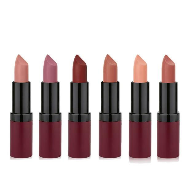 Golden Rose Matte Lipstick Nude Look Moisturizer Vitamin E