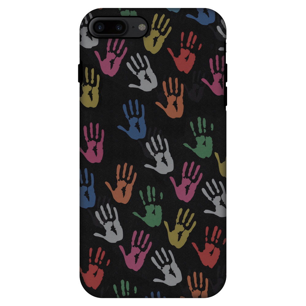 iPhone 7 Plus Case, Premium Handcrafted Printed Designer 2 in 1 Dual Layer ShockProof Case Back Cover for iPhone 7 Plus - Colour Palms