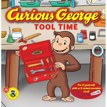 Curious George Tool Time (Board Book) for $<!---->