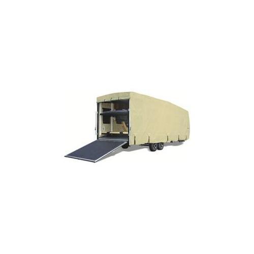 Eevelle GLRVTH3234T 32-34 ft.  Goldline Cover Toy Hauler - Tan