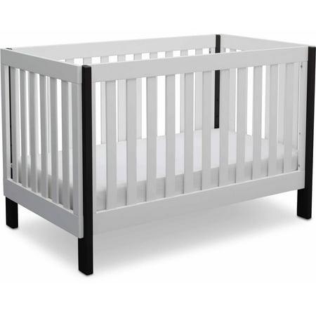 Delta Children Bellevue 3-in-1 Convertible Crib White - Walmart.com