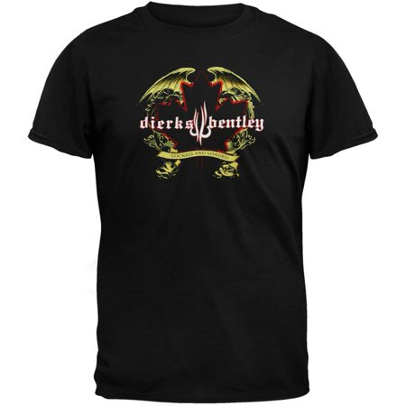 Maple Leaf Symbol T-shirt (Dierks Bentley - Maple Leaf 07 Tour T-Shirt )