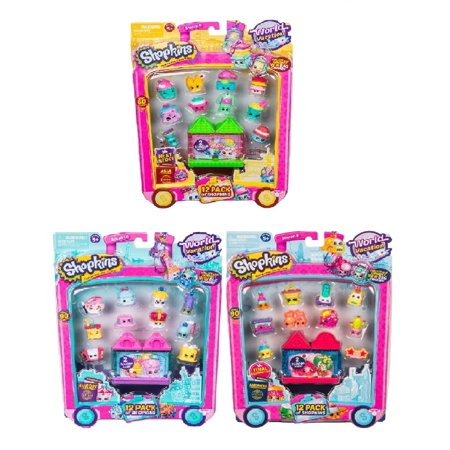 Shopkins Season 8 World Vacation 12 pack Bundle  Europe, Asia & America Wave 1,2 & 3 (random styles) - Asian Toys