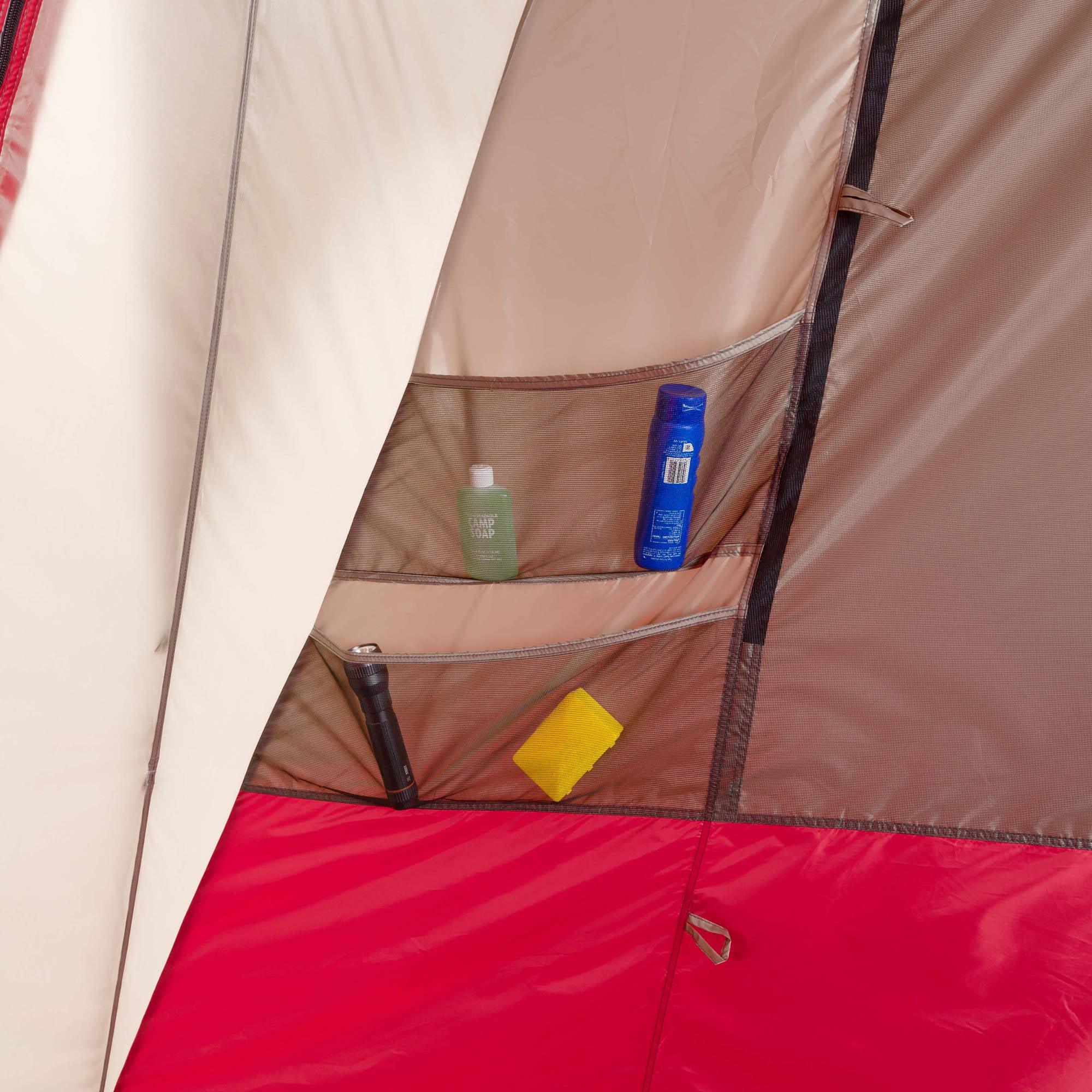 Ozark Trail 15 personas 3 habitaciones Split Plan cabina instantánea tienda + Ozark Trail en Veo y Compro