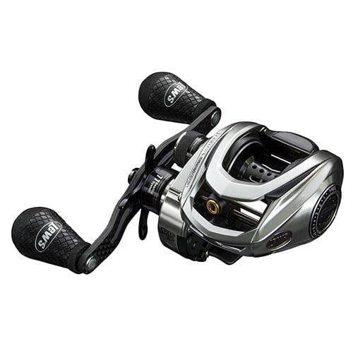"Click here to buy Lews Fishing HyperMag Speed Spool SLP Reel 8.3:1 Gear Ratio, 33"" Retrieve Rate, 10+1 Bearings, Right Hand by Lews Fishing."