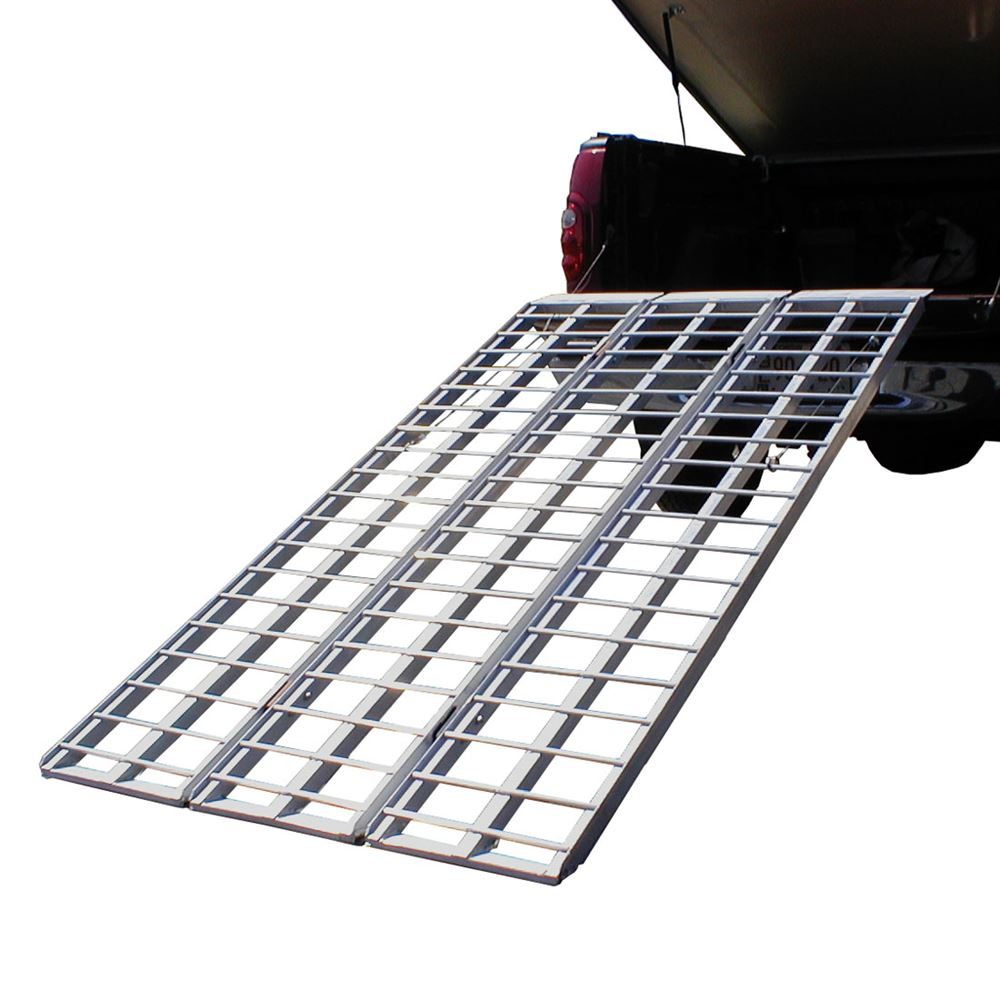 "82"" Aluminum Tri-Fold Heavy Duty ATV Loading Ramp"