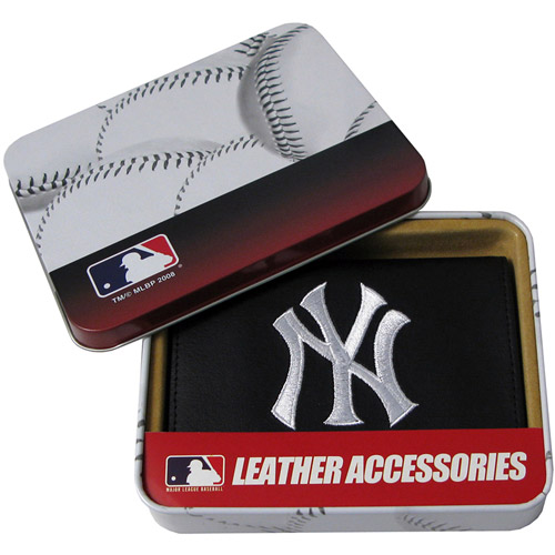 MLB Embroidered Trifold - New York Yankees