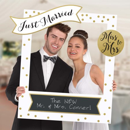 Giant Wedding Frame Photo Prop Kit - Prop Photo