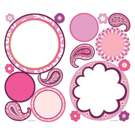 Dry Erase Sheet Peel - Paisley Dry Erase Peel and Stick Wall Decals