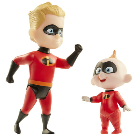 - Incredibles 2 champion series action figures - dash & jack-jack