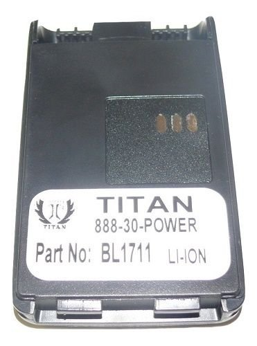 New Battery for Relm HYT BPRP1700 RP3000 RPV Plus RPU Radios 1700mAh BPRP1700Li