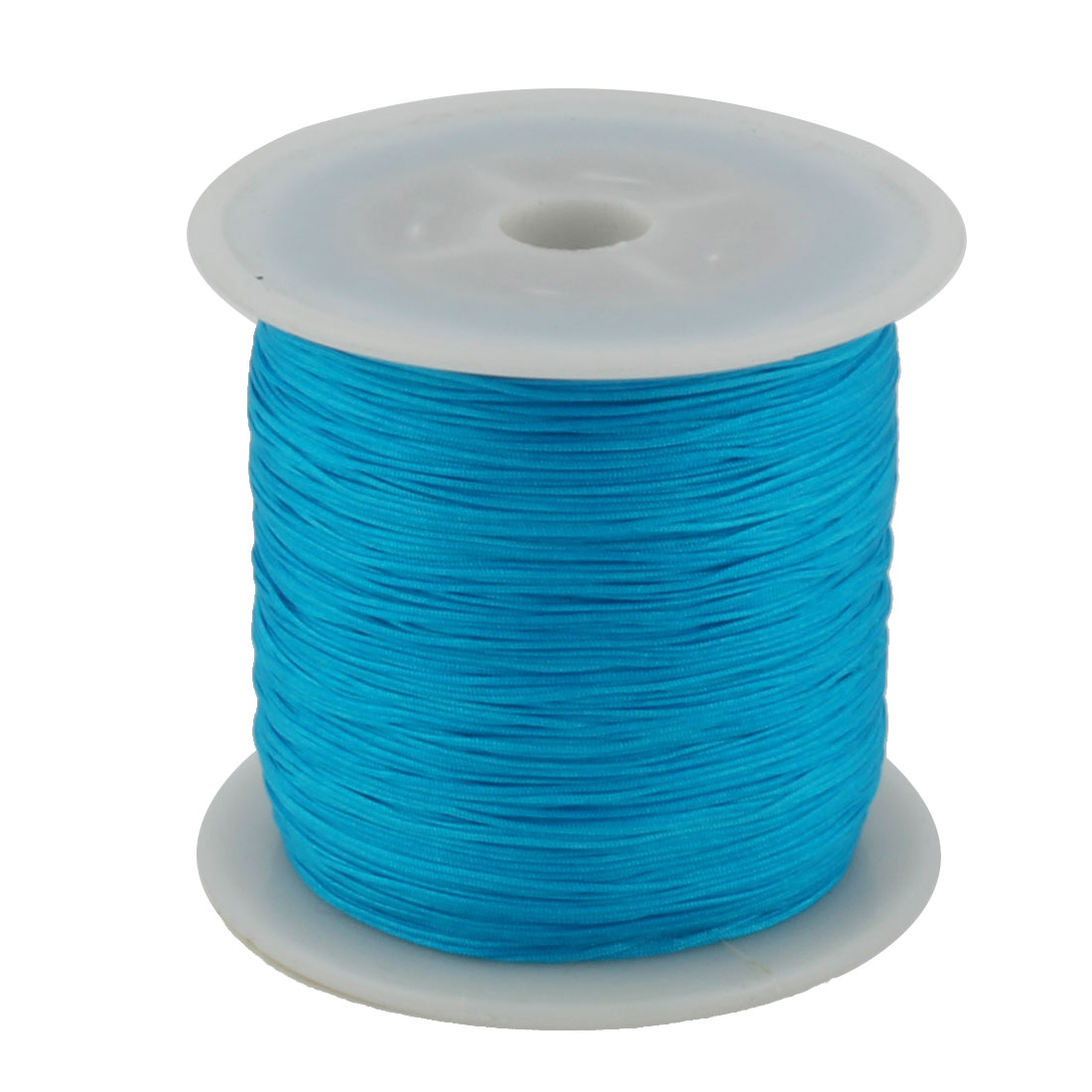 Nylon DIY Art Braided Beading Chinese Knot Cord String Roll Lake Blue 153 Yards