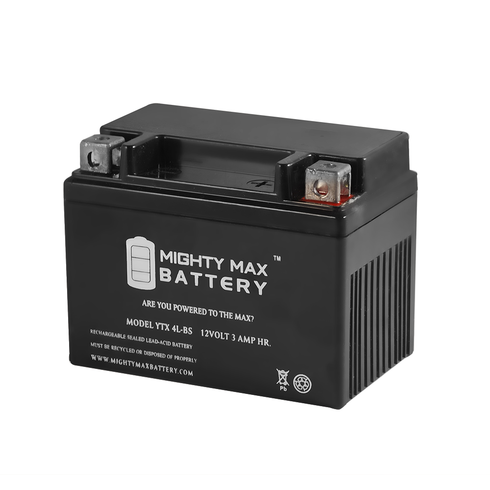 YTX4L-BS Replacement for Adventure Power 12V3AH Motorcycle Battery