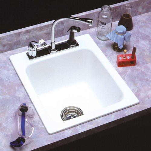 Mustee Durastone 11 Single Basin Drop In Utility Sink