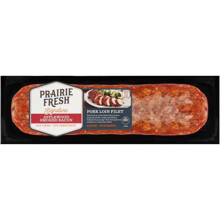 PrairieFresh® Signature Applewood Smoked Bacon Pork Loin, 1.6-2.5 lb