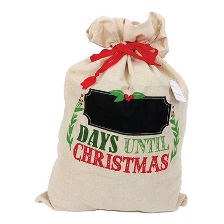 Boulder Chalk Bag - 'All I Want for Christmas' Chalkboard Gift Bag
