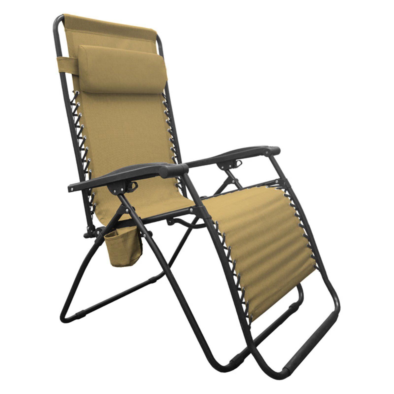 Caravan Sports Infinity Big Boy Zero Gravity Lounge Chair Beige
