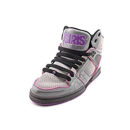 Osiris Womens NYC 83 SLM Skate Shoe, Charcoal/Grey/Purple, (Osiris Ladies Shoes)