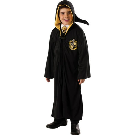Boys Harry Potter Hufflepuff Robe Costume - Harry Potter Quidditch Robes