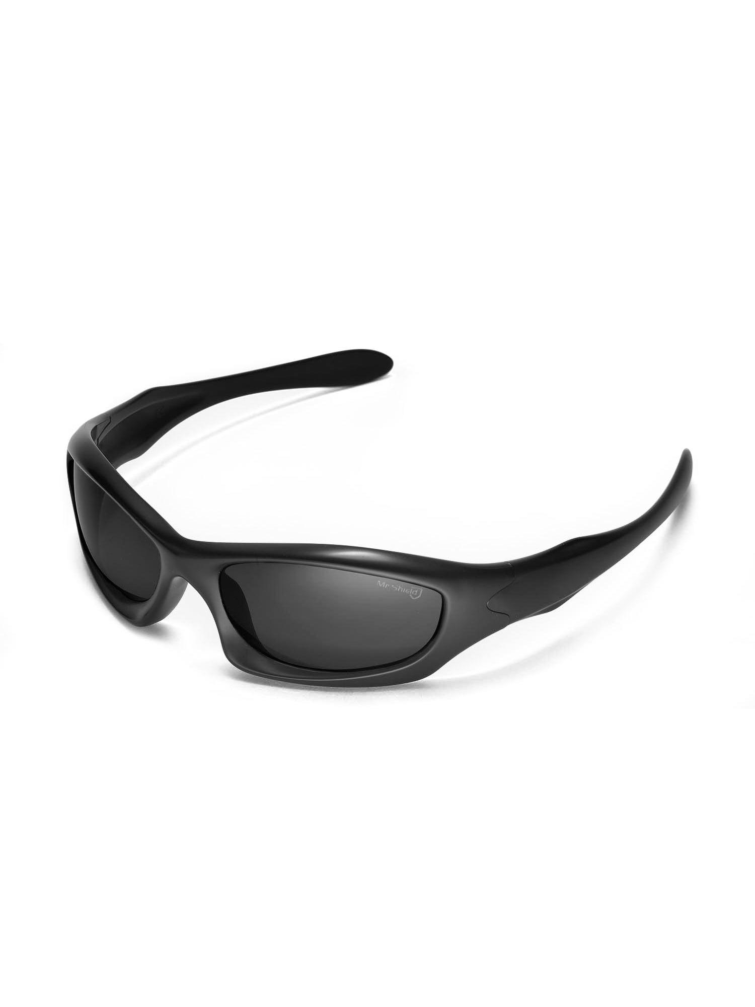 cf8efcc2ea Walleva - Walleva Black ISARC Polarized Replacement Lenses for Oakley  Monster Dog Sunglasses - Walmart.com