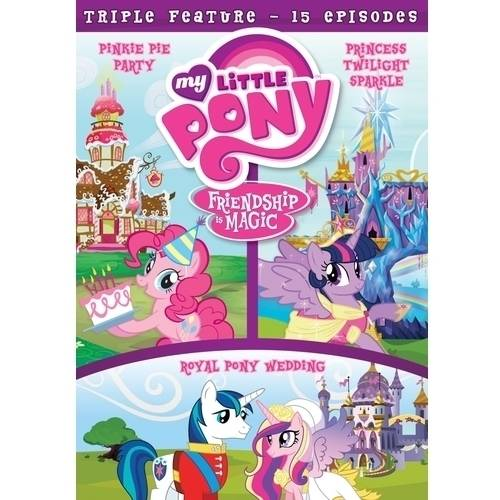 My Little Pony: Friendship Is Magic - Pinkie Pie Party / Princess Twilight Sparkle / Royal Pony Wedding (Walmart Exclusive) (Widescreen)