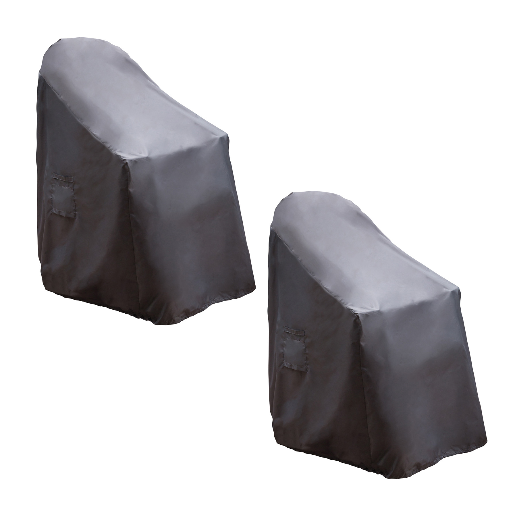 Reusable Revolution Stackable Chair Patio Furniture Cover (2 Pack) by Reusable Revolution