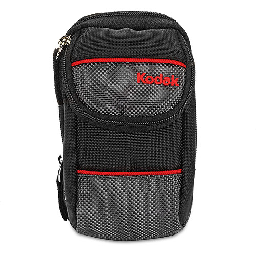 Kodak Device Case with compartments, compatible with a variety of cameras including (PlaySport, PlayTouch, C183, C195, M530, M550, M575, M580)