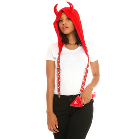 DEVIL HOODLUMZ ACCESSORY KIT (Women's Service With A Smile Costumes)