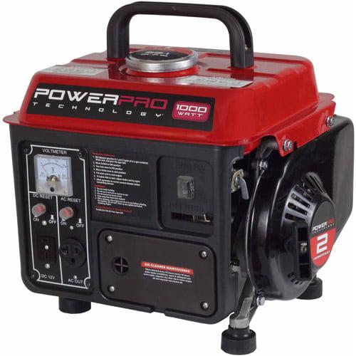 PowerPro 2-Stroke Generator, 1000W by PowerPro