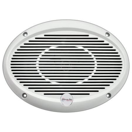 American Bass Abmre69 6X9  3 Way Marine Speaker 300W Max