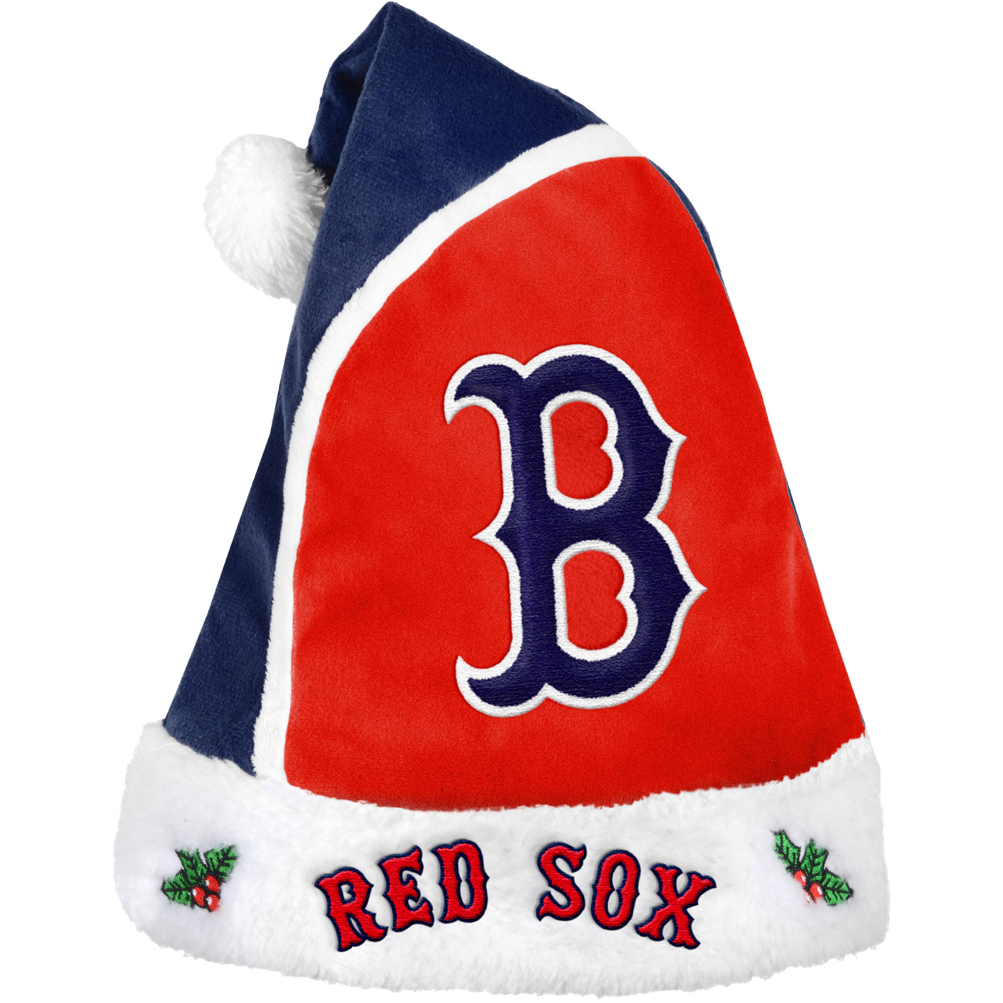 Forever Collectibles MLB 2015 Santa Hat, Boston Red Sox