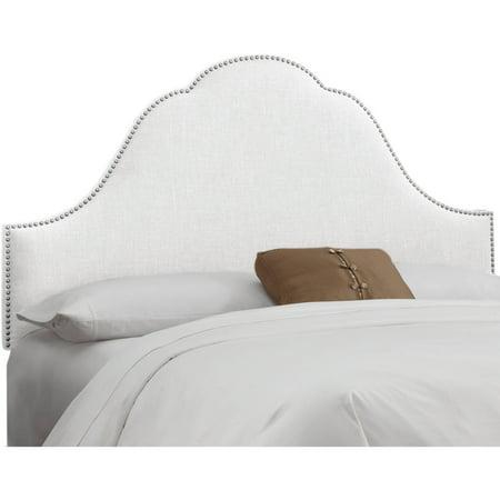 Arch King Headboard - Arch Nail Button Headboard, Multiple Siz