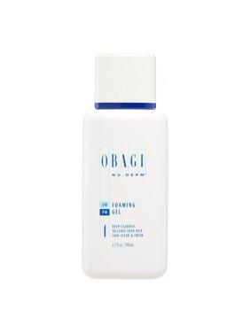 Obagi Nu-Derm Foaming Gel, Face Wash for All Skin Types, 6.7 Oz