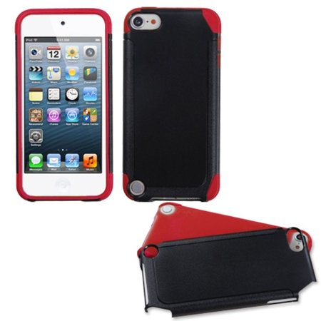 Insten Black/Red Frosted Fusion Case for iPod touch (5 5G 5th 6 6G 6th Gen) - image 3 de 3