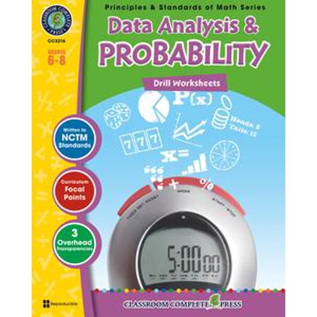 Data Analysis & Probability - Drill Sheets Gr. 6-8 -