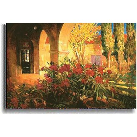 Artistic Home Gallery 2436567S Twilight Courtyard By Philip Craig Premium Stretched Canvas Wall Art - image 1 of 1
